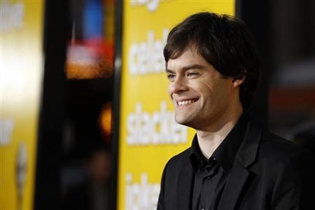 Cast member Bill Hader poses at the premiere of ''Paul'' at the Grauman's Chinese theatre in Hollywood, California March 14, 2011. REUTERS/Mario Anzuoni