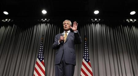 U.S. Secretary of Defense Chuck Hagel speaks at a town hall meeting at the MARK Center in Alexandria, Virginia May 14, 2013. REUTERS/Yuri Gripas