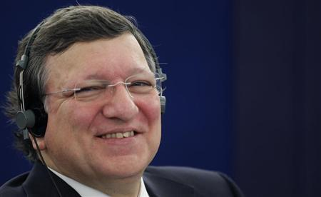 European Commission President Jose Manuel Barroso attends a debate at the European Parliament in Strasbourg, April 16, 2013. REUTERS/Vincent Kessler