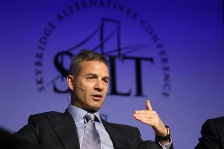 Daniel S. Loeb, founder of Third Point LLC, participates in a panel discussion during the Skybridge Alternatives (SALT) Conference in Las Vegas, Nevada May 9, 2012. REUTERS/Steve Marcus