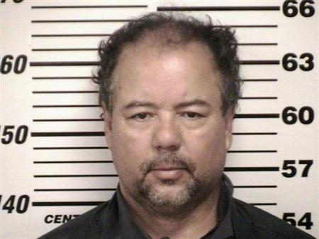 Ariel Castro, 52, is shown in this Cuyahoga County Sheriff's Office booking photo taken on May 9, 2013. Cuyahoga County Sheriff's Office/Handout via Reuters