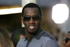 "Sean ""Diddy"" Combs arrives at the premiere of the film ""Lawless"" in Los Angeles August 22, 2012. REUTERS/Danny Moloshok"