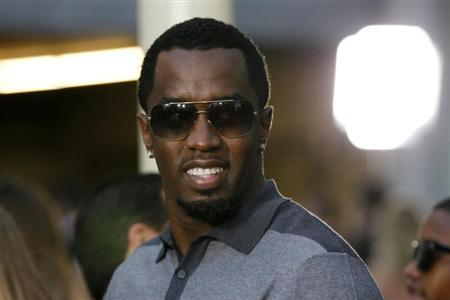 Sean ''Diddy'' Combs arrives at the premiere of the film ''Lawless'' in Los Angeles August 22, 2012. REUTERS/Danny Moloshok