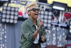 Scottish recording artist Emeli Sande performs at the 2013 Wango Tango concert at the Home Depot Center in Carson, California May 11, 2013. REUTERS/Danny Moloshok