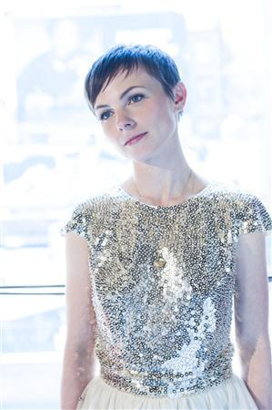 American singer and songwriter Kat Edmonson is seen in this publicity photo provided by music label Sony in London May 16, 2013. REUTERS/Sony Music Entertainment/Florence Montmare/Handout via Reuters