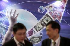 La part des investissements mondiaux allant aux pays en développement devrait tripler dans les deux prochaines décennies, dans un contexte de croissance rapide des économies émergentes et de leur meilleure intégration aux marchés financiers, selon un rapport de la Banque mondiale. /Photo d'archives/REUTERS/Aly Song