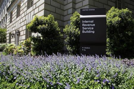 Una vista general del Servicio de Construcción de Rentas Internas (IRS), en Washington, 14 de mayo de 2013. REUTERS / Jonathan Ernst