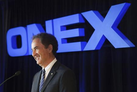 Onex Chairman of the Board, President, and Chief Executive Officer Gerald Schwartz speaks at their annual general meeting for shareholders in Toronto, May 6, 2010. REUTERS/Mark Blinch