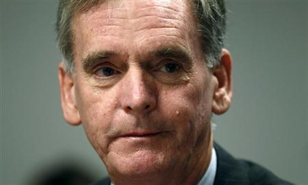 Senator Judd Gregg (R-NH) takes part in the Reuters Washington Summit September 22, 2010. REUTERS/Kevin Lamarque