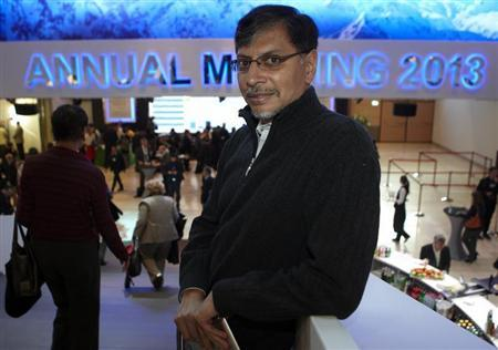 Phaneesh Murthy poses during the World Economic Forum (WEF) in Davos, January 26, 2013. REUTERS/Denis Balibouse