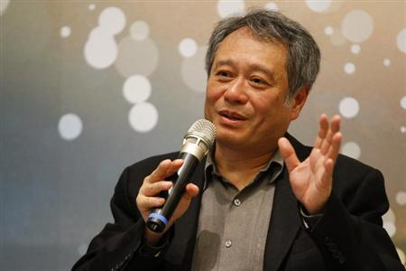 Director Ang Lee speaks in a news conference in Taipei, May 9, 2013. REUTERS/Yi-ting Chung