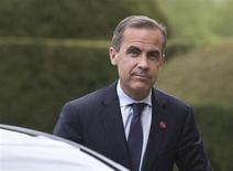 Bank of Canada Governor Mark Carney arrives at the G7 Finance Ministers meeting in Aylesbury, southern England May 10, 2013. REUTERS/Alastair Grant/Pool