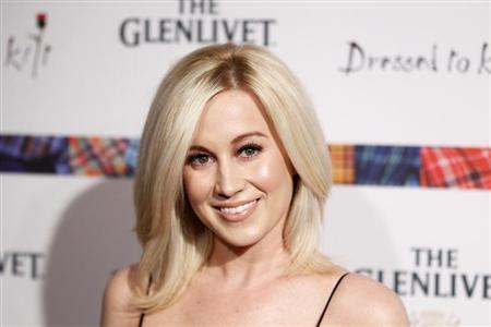 Singer Kellie Pickler arrives at the 2011 ''Dressed to Kilt'' charity fashion show in New York April 5, 2011. REUTERS/Lucas Jackson