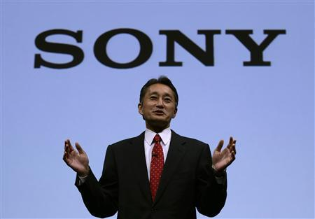 Sony Corp's President and Chief Executive Officer Kazuo Hirai speaks during the Sony Corporate Strategy Meeting at the company's headquarters in Tokyo May 22, 2013. REUTERS/Toru Hanai
