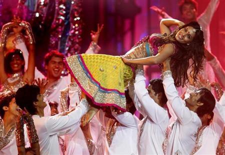 Bollywood actress Bipasha Basu dances during the International Indian Film Academy (IIFA) show in Toronto June 25, 2011. REUTERS/Mark Blinch/Files