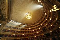 An overview of La Scala opera house is seen in this undated photo released by La Scala press office in Milan on April 20,2012. REUTERS/Brescia e Amisano/Teatro alla Scala/Handout