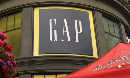A Gap retail store is shown in San Francisco, California, May 8, 2013. REUTERS/Robert Galbraith