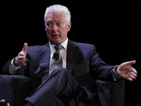 A.G. Lafley speaks during the World Business Forum in New York October 6, 2010. REUTERS/Shannon Stapleton