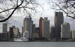 The skyline of Detroit, Michigan is seen from Windsor, January 4, 2012.REUTERS/Rebecca Cook