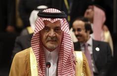 وزير الخارجية السعودي الامير سعود الفيصل في القاهرة يوم 6 مارس اذار 2013 -  رويترز