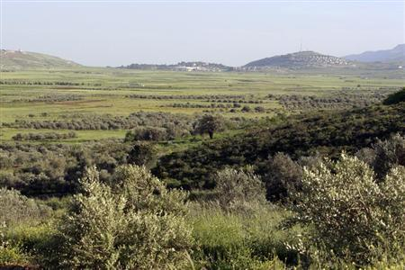 A landscape view of Marjayoun valley in southern Lebanon April 29, 2009. REUTERS/ Jamal Saidi