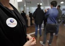 Le nombre de chômeurs a enregistré en avril en France son 24e mois consécutif de hausse pour toucher un nouveau record à 3.264.400 pour les demandeurs d'emploi de catégorie A (qui n'ont pas travaillé), annonce jeudi le ministère du Travail. /Photo prise le 26 mars 2013/REUTERS/Jean-Paul Pélissier
