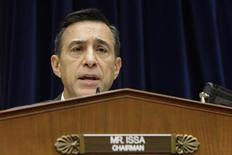 Committee Chairman U.S. Representative Darrell Issa (R-CA) holds a House Oversight and Government Reform Committee hearing on alleged targeting of political groups seeking tax-exempt status from by the Internal Revenue Service (IRS), on Capitol Hill in Washington, May 22, 2013. REUTERS/Jonathan Ernst
