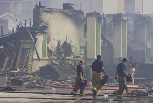 Firefighters killed battling blaze