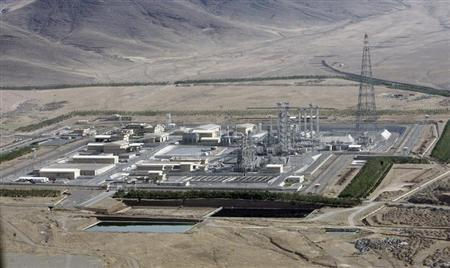 A view of the Arak heavy-water project 190 km (120 miles) southwest of Tehran August 26, 2006. Iran President Mahmoud Ahmadinejad launched a new phase in the Arak heavy-water reactor project on Saturday, despite Western fears it is aimed at producing a bomb. REUTERS/ISNA/Handout
