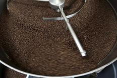 Coffee beans are sorted in the roasting area at Sightglass, a coffee bar and roastery, in San Francisco, California May 8, 2013. REUTERS/Robert Galbraith