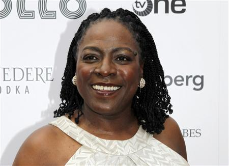 Singer Sharon Jones of Sharon Jones & the Dap-Kings arrives at the Apollo Theater Spring Benefit Concert & Awards Ceremony in New York, in this file picture taken June 14, 2010. REUTERS/Natalie Behring/Files