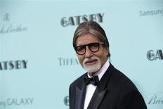 Actor Amitabh Bachchan attends the 'The Great Gatsby' world premiere at Avery Fisher Hall at Lincoln Center for the Performing Arts in New York May 1, 2013. REUTERS/Andrew Kelly
