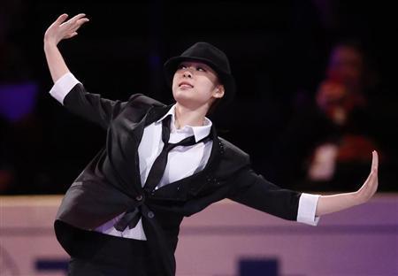 Yuna Kim of South Korea performs at the ISU World Figure Skating Championships gala presentation in London, Ontario March 17, 2013. REUTERS/Mark Blinch
