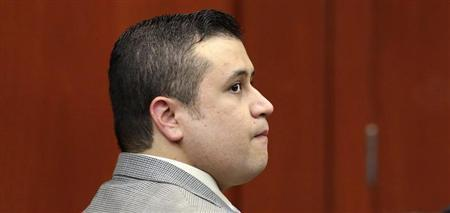 George Zimmerman, accused in the Trayvon Martin shooting, appears in Seminole circuit court in Sanford, Florida, June 7, 2013. REUTERS/Joe Burbank/Orlando Sentinel/Pool
