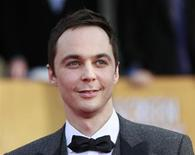 "Ator Jim Parsons do seriado de comédia ""The Big Bang Theory"" chega para a 19ª edição anual do Screen Actors Guild Awards, em Los Angeles, Califórnia, 27 de janeiro de 2013. ""The Big Bang Theory"" foi o principal vencedor entre as comédias no Critics Choice, premiação norte-americana de críticos de televisão, na segunda-feira, enquanto ""Breaking Bad"" e ""Game of Thrones"" ganharam prêmios na categoria drama, desbancando ""Mad Men"" e ""Homeland"". 27/01/2013 REUTERS/Adrees Latif"