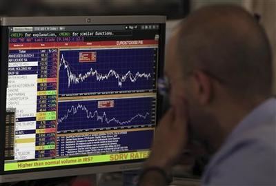 Wall Street rallies on data; dollar falls versus yen