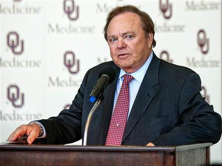 Continental Resources Chairman and Chief Executive Officer Harold Hamm is seen in this undated file photo courtesy of the Journal Record. REUTERS/The Journal Record/Files