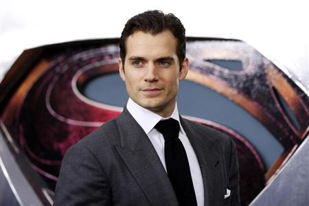 Cast member Henry Cavill arrives for the world premiere of the film ''Man of Steel'' in New York June 10, 2013. REUTERS/Lucas Jackson