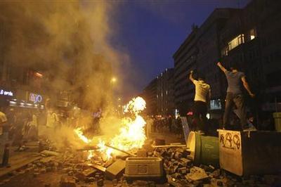 Sporadic clashes in Turkey as Erdogan asserts authorit...