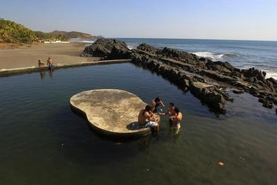 The waters of Nicaragua