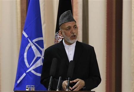 Afghan government to shun U.S. talks with Taliban