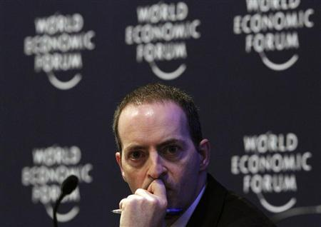 BT CEO Ian Livingston attends a session at the World Economic Forum (WEF) in Davos January 27, 2011. REUTERS/Christian Hartmann
