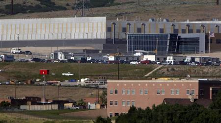 A new National Security Agency (NSA) data gathering facility is seen under construction in Bluffdale, about 25 miles (40 kms) south of Salt Lake City, Utah June 11, 2013. REUTERS/Jimmy Urquhart