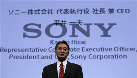 Sony Corp's President and Chief Executive Officer Kazuo Hirai attends the Sony Corporate Strategy Meeting at the company's headquarters in Tokyo May 22, 2013. REUTERS/Toru Hanai