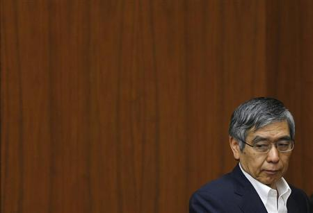 Bank of Japan Governor Haruhiko Kuroda attends a semi-annual parliament hearing on monetary policy at the Lower House of the parliament in Tokyo June 19, 2013. REUTERS/Issei Kato