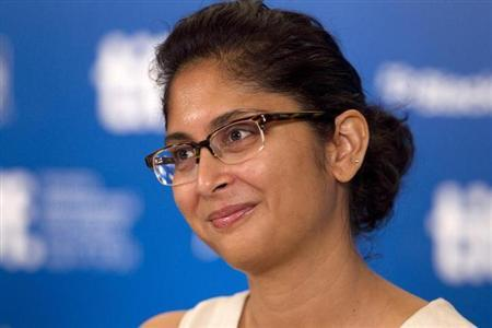 Director Kiran Rao attends a news conference to promote the film ''Dhobi Ghat'' during the 35th Toronto International Film Festival September 12, 2010. REUTERS/Fred Thornhill/Files