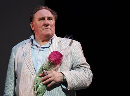Actor Gerard Depardieu attends the first Russian Film Festival which pays a tribute to the French actor in Nice June 16, 2013. REUTERS/Eric Gaillard