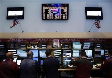 Traders work on the floor at the New York Stock Exchange June 20, 2013. REUTERS/Brendan McDermid