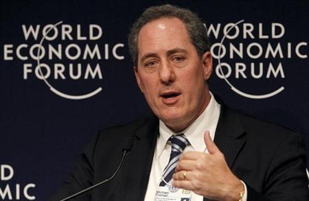 Michael Froman attends a session at the World Economic Forum (WEF) in Davos January 28, 2010 file photo. REUTERS/Arnd Wiegmann