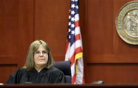 Judge Debra Nelson is pictured on the second day of jury selection in the murder trial of George Zimmerman in Sanford, Florida in this file photo taken June 11, 2013. REUTERS/Joe Burbank/Pool